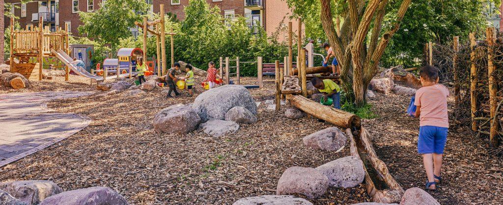 eetbaar groen schoolplein