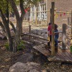 Waterberging groenblauw schoolplein